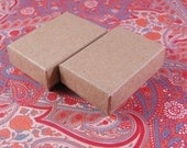 20 Pack Kraft Cotton Filled Jewelry Presentation Boxes 1.85X1.25X5/8 Inch Size Itty Bitty Boxes