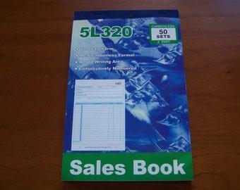 50 Receipt 2 Copy Carbonless Sales Retail Merchandise Receipt Book