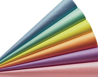 576 Sheets 15x20 Inch Assorted 6 Pastel Color Tissue Paper Pack