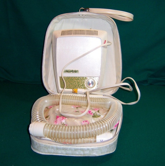 Vintage Bonnet Style Portable Hairdryer by Dominion