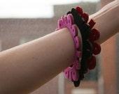 Binary Bracelet // Pink