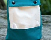 Blue Insulated Lunch Monster