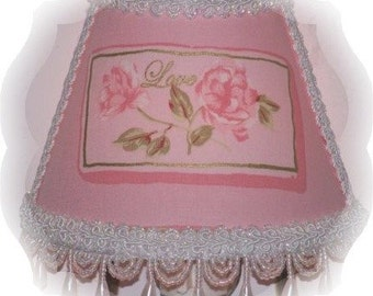 Lovely Lt Pink LOVE Night Light for your Elegant Romantic Cottage Chic Decor and Valentine's Day