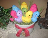 EPATTERN -- Peeps and Eggs Bowl Fillers Easter Gathering