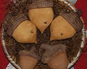 EPATTERN -- Primitive Acorn Tucks Bowl Fillers