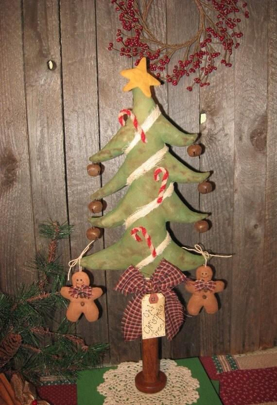 EPATTERN -- Primitive Christmas Tree Make Do