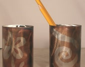 Stainless Steel Pencil Cup