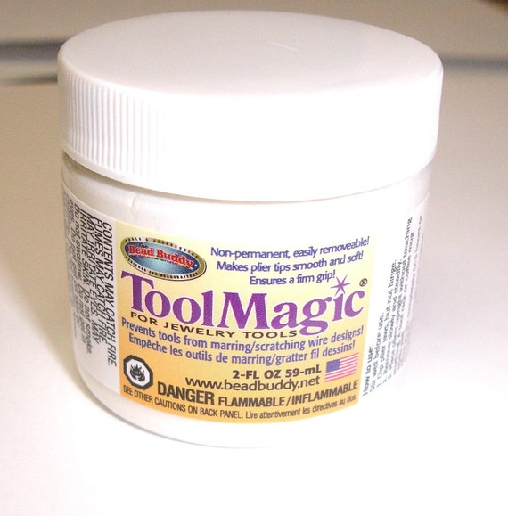 Tool Magic - Rubber Coating for Your Pliers Tips - 2 Ounce Jar