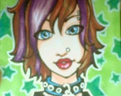 Custom ACEO for iheartlupin - RESERVED