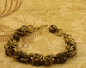 High Gear - Steampunk Chainmail Bracelet