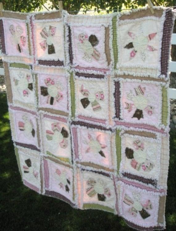 Flower Applique Quilt Pattern Rag Quilt Pattern Baby Quilt : flower quilt patterns beginners - Adamdwight.com