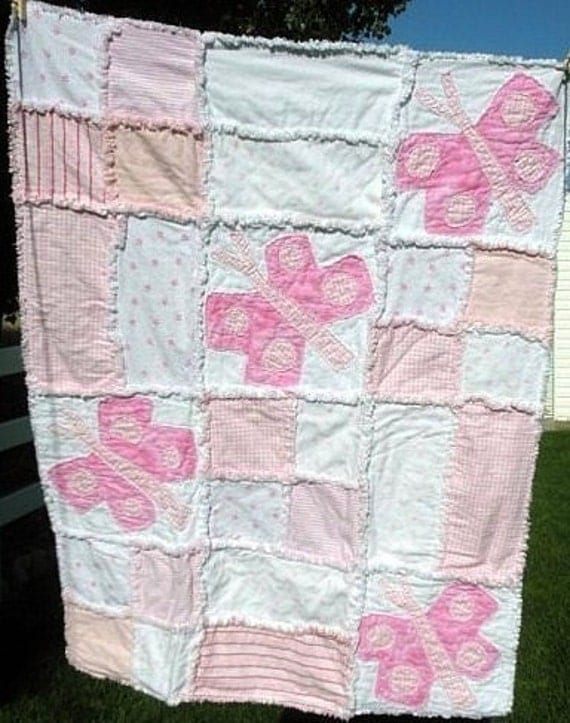 Butterflies Are Free Crib Quilt - Free Patterns - Download
