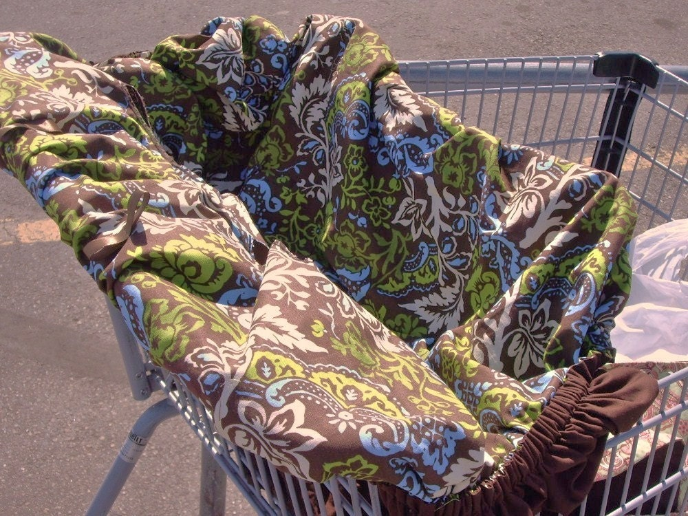 Pattern Shopping Cart Cover