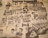 Yearbook Snippets No. 3 Collage alered art assemblage ephemera ZNE