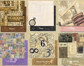 TIM HOLTZ LOT 9x9 (PICK ANY  10) Collage Altered Art Scrapbooking Papers