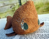 Winnifred Winona the Whale - A Suede Soft Sculpture