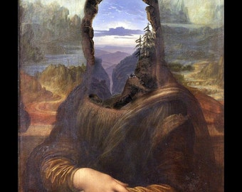 Lisa With A View - 8x10 Surreal Fantasy Fine Art Print