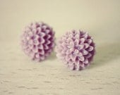 CLEARANCE - Maxime Earrings - Lilac
