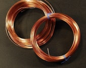 21 Gauge Square Solid Copper Wire - Soft - 50 Feet
