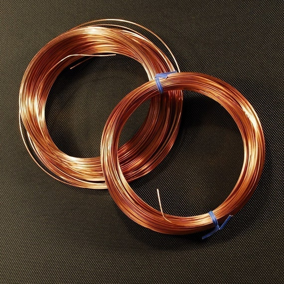 Solid Copper Wire : Items similar to gauge round solid copper wire soft