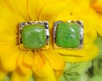 Memorial Beads, Flower Petal Jewelry, Memorial Jewelry, Memorial Gift Idea, Cartesian Earrings