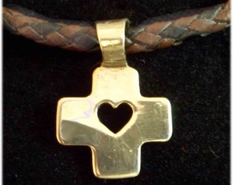 Cross Pendant - Faith and Love