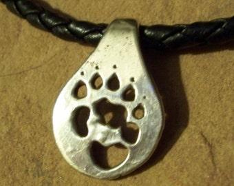 Wombat Paw Print Necklace/Choker