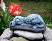Dragon Garden Statue - BIG Sleeping Daphne Is So Adorable