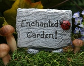 Fairy Garden Sign Custom Fairy House Sign For Your Secret Garden