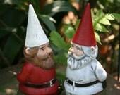 Same Sex Wedding - Gnomes Cake Topper - Gay Lesbian LGBT Wedding Gnomes