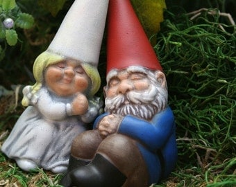 View Garden Gnomes by PhenomeGNOME on Etsy