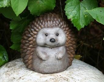 Outdoor Sculpture Hedgehog Statue - Cute Decor For Your Garden