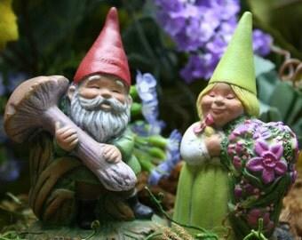 Garden Gnomes - Terrarium Accessories for Your Miniature Fairy Garden
