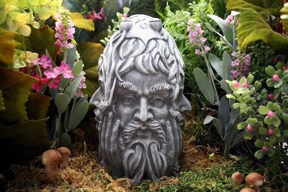 Guardians of the 4 Winds Sculpture - Concrete Pagan Statue