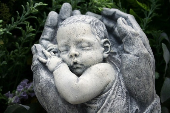 Reserved For Rb82 Precious Baby Sculpture In God S