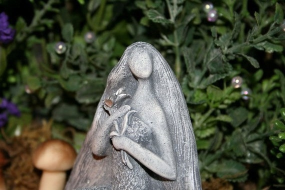 Gaia Goddess Statue Mother Earth Altar Figurine By