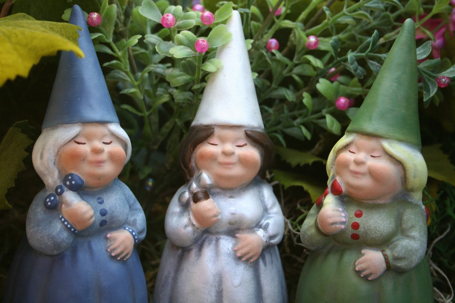 Female Gnomes For Sale Custom Girl Yard Gnome By Phenomegnome