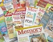 PIF Destash 16 Scrapbook Magazines