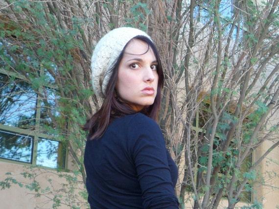 Knitting Pattern - Francesca - Beautiful, Simple Slouchy Beret Hat