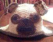 Infant Custom Pug Hat