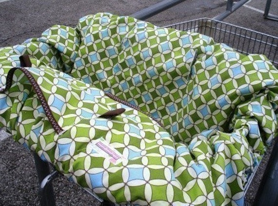 Boutique Shopping Cart Cover SAPPHIRE LUNA Shopping Cart Cover.......Last One