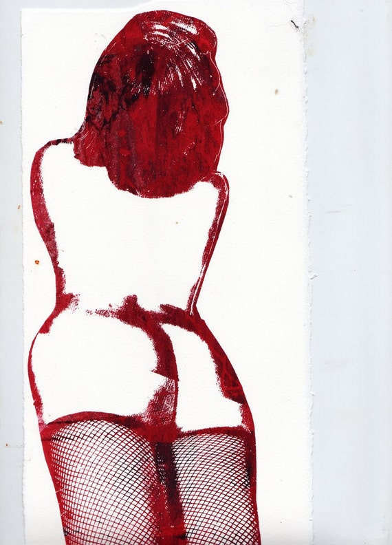 Red Lady Jane ode to Bettie Page