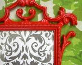 Red Embellished Picture Frame
