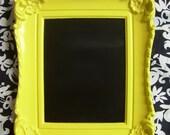 Yellow Embellished Chalkboard