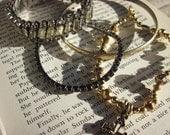 Vintage Gothic Bracelets, Set of 4