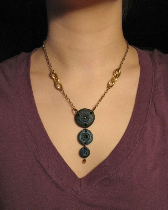 SALE Out of the Blue Necklace