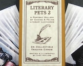 Literary Pets 2 Card Set