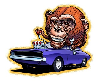 Chimp My Ride-Charger