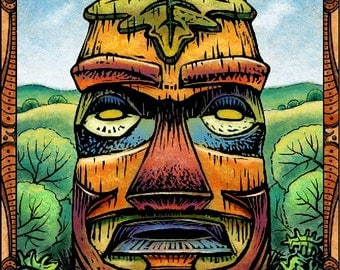Earth Tiki