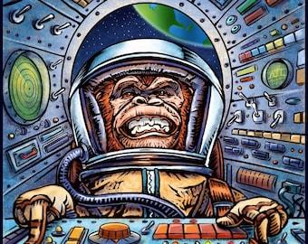 Space Race Monkey